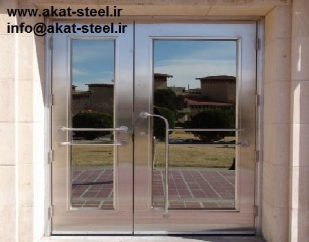 درب استیل ورودی ساختمان