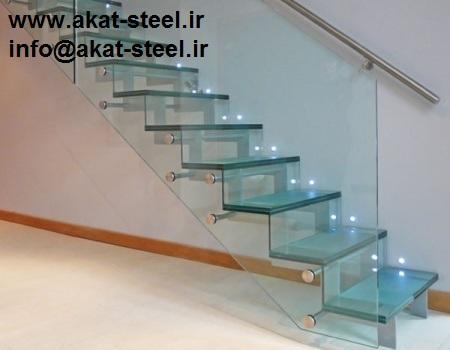 نرده شیشه ای اسپایدری